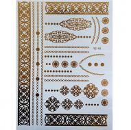 Флеш тату, Metallic Flash Tattoo YS-49