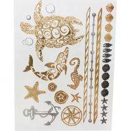 Флеш тату, Metallic Flash Tattoo YS-SEE