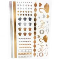 Флеш тату, Metallic Flash Tattoo CT-096