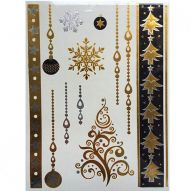 Флеш тату, Metallic Flash Tattoo YS-32