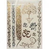 Флеш тату, Metallic Flash Tattoo YS-GOLDTREE
