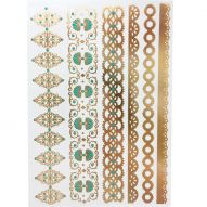 Флеш тату, Metallic Flash Tattoo YS-LACE (YS-55)