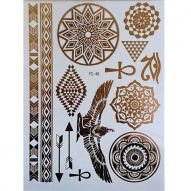 Флеш тату, Metallic Flash Tattoo YS-48